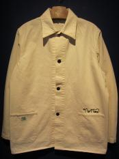 NORTH NO NAME   NNN RAILROAD JACKET (WHITE)