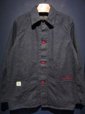 NORTH NO NAME   NNN RAILROAD JACKET (INDIGO)