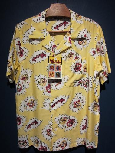 WEIRDO  WGLIES - S/S SHIRTS (YELLOW)