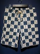 WEIRDO  INITIALS - SHORTS (BLUE)