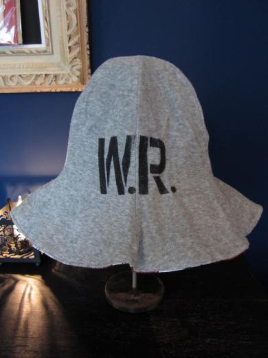 WEIRDO  INITIALS - HAT (RED)