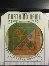 North No Name FELT PATCH (SUCK IT UP)