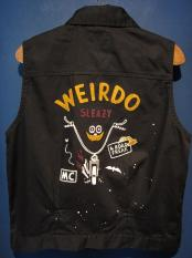 WEIRDO  ROAD FREAK - VEST (BLACK)