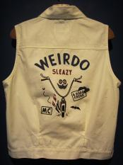WEIRDO  ROAD FREAK - VEST (IVORY)
