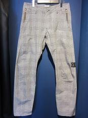 GAVIAL / tapered pants (glen chock)