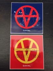 GAVIAL / Sticker set