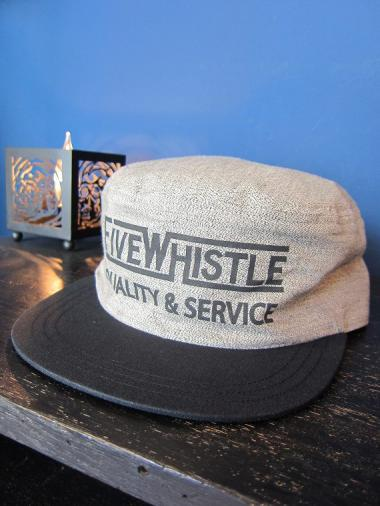 5WHISTLE /  PAINTER CAP(GRAY)