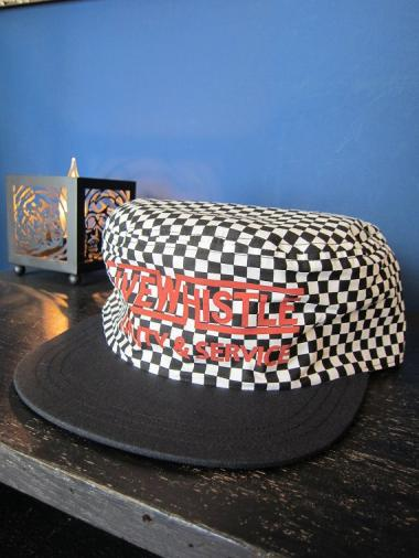 5WHISTLE /  PAINTER CAP(CHECKER)