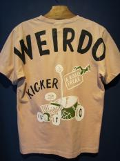 WEIRDO  ROAD FREAK KICKER - S/S T-SHIRTS (PINK)
