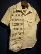 BY GLADHAND  GLAD CHEWING GUM - S/S SHIRTS (IVORY)