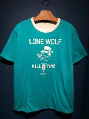 NORTH NO NAME / LONE WOLF REVERSIBLE T(TQS×WHT)