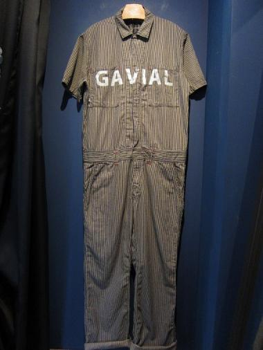 GAVIAL / s/s jumpsuits STRIPE