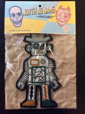 "NORTH NO NAME×SWINDLE 9th ""ROBOT"" FELT PATCH"