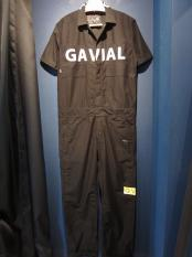 GAVIAL / s/s jumpsuits (BLACK)