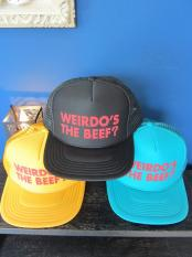 WEIRDO  Weirdo's the Beef? - MESH CAP