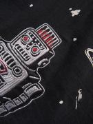 WEIRDO S ROBOT - S/S SHIRTS (BLACK)