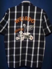 WEIRDO  ROAD FREAK - S/S SHIRTS(BLACK)