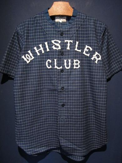 5WHISTLE / WHISTER BASEBALL JERSEY (INDIGO BLUE)