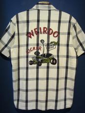 WEIRDO  ROAD FREAK - S/S SHIRTS(IVORY)