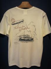 BY GLADHAND POSTAL OCEAN - V NECK S/S T-SHIRT