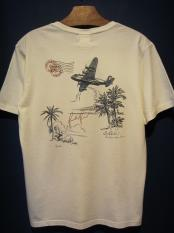 BY GLADHAND POSTAL FLIGHT - V NECK S/S T-SHIRT