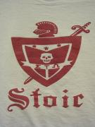 "5WHISTLE/ ""Stoic"" W Face Tee (WHITE/RED)"