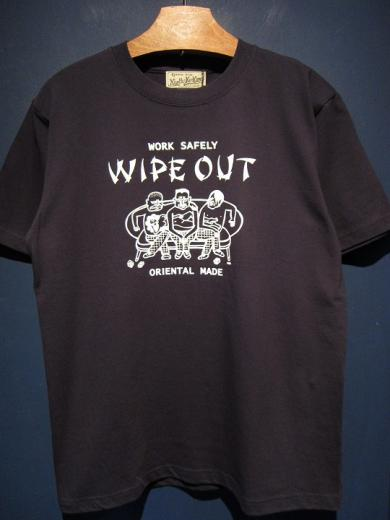 North No Name WIPE OUT (NAVY×WHITE)