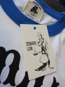 "Vinny×EDWARD LOW ""FAN CLUB"" Ringer T(WHITE×BLUE)"