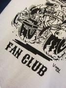 "Vinny×EDWARD LOW ""FAN CLUB"" T(WHITE)"