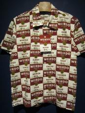 WEIRDO  WRD CANS - S/S SHIRTS (RED)
