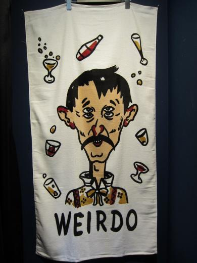 WEIRDO WRD COMIC - TOWEL (4EYEDOO)