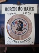 North No Name FELT PATCH (BLOODY)