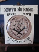 North No Name FELT PATCH (SKULL)