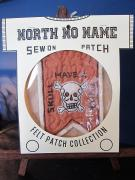 North No Name FELT PATCH (SKULL HAVE A THICK)