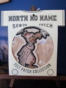 North No Name FELT PATCH (WHO'S CHICKEN)