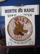 North No Name FELT PATCH (WILY)