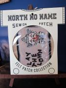 North No Name FELT PATCH (PLAY THE CLOWN)