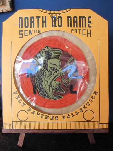 North No Name FELT PATCH (KILL)