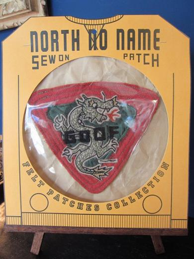 North No Name FELT PATCH (GOOF)