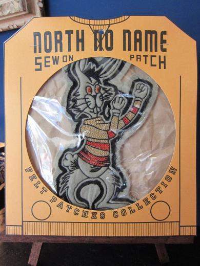 North No Name FELT PATCH (RABBIT)