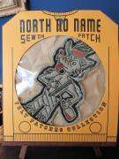 North No Name FELT PATCH (WOLF)