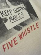 5WHISTLE/Here's hopping! PHOTO TEE (WHITE)