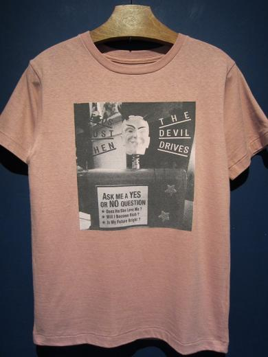 5WHISTLE / DEVIL PHOTO TEE  (PINK)