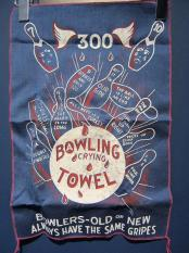"Vintage / ""CRYING TOWEL"" GAG GIFT(NAVY)"