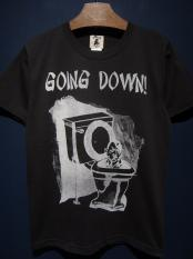 "EDWARD LOW ""GOING DOWN!"" TEE (BLACK)"