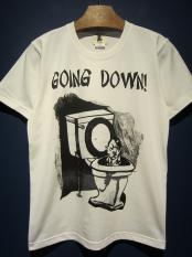"EDWARD LOW ""GOING DOWN!"" TEE (WHITE)"