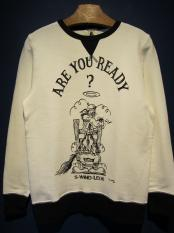"Vinny×EDWARD LOW ""READY?"" SWEAT (WHITE)"