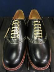GLADHAND×REGAL SADDLE SHOES  (BLACK)