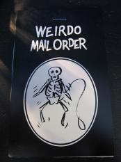 WEIRDO  MAIL ORDER WATER DECAL
