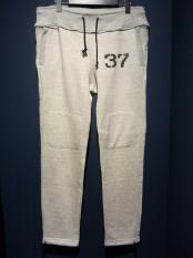North No Name /STENCIL SWEAT PANTS (BEIGE)